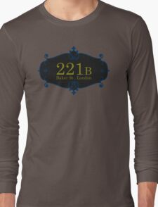 221B Baker St Long Sleeve T-Shirt