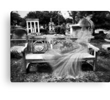 The Last Mourner Canvas Print