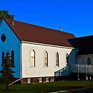 The Saco, Montana, United Methodist Church by Bryan D. Spellman