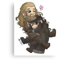 Cuddly Cuddly~ Canvas Print