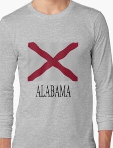 Alabama flag Long Sleeve T-Shirt