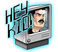 HEY KID! I'M A COMPUTER! by fioski