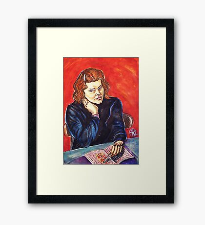 The Young Teacher Framed Print