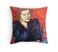 The Young Teacher Throw Pillow