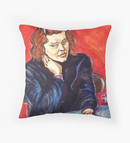 The Young Teacher Throw Pillow