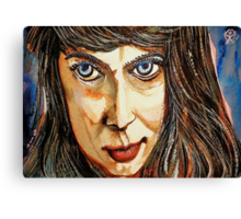 Norica With Crooked Nose Canvas Print