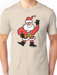 Santa Claus Greetings Unisex T-Shirt
