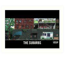 The Last Of Us Demastered - The Suburbs Art Print