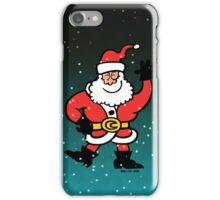 Santa Claus Greetings iPhone Case/Skin