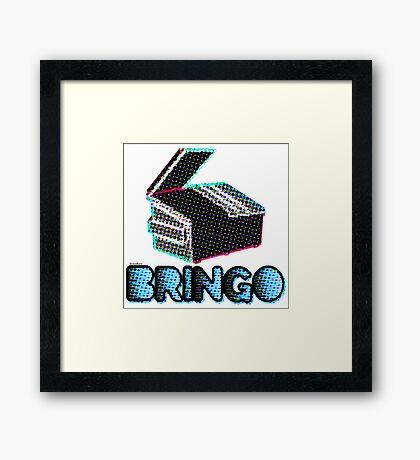BRINGO! Dumpster Edition Dr. Steve Brule Design by SmashBam Framed Print