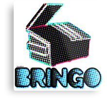 BRINGO! Dumpster Edition Dr. Steve Brule Design by SmashBam Metal Print