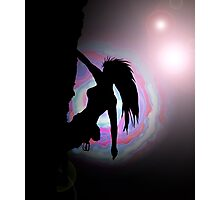 climbing in another world Photographic Print