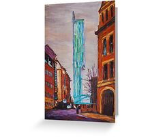 Manchester Beetham Tower Greeting Card