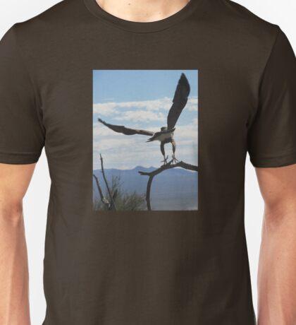Harris Hawk Taking Flight Unisex T-Shirt