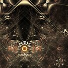 Curl Scope Abstract No.1 (Infinity) by viennablue