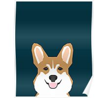 Teagan - Corgi Welsh Corgi gift phone case design for pet lovers and dog people Poster