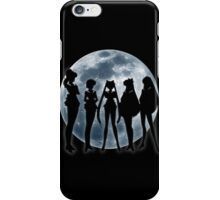 Sailor Moon Silhouettes v.2 iPhone Case/Skin