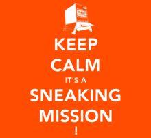 Keep calm Snake! Kids Clothes