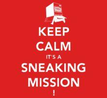 Keep calm Snake! Kids Tee