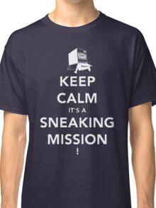 Keep calm Snake! Classic T-Shirt