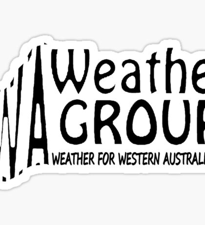 WA Weather Group T-Shirt  Sticker