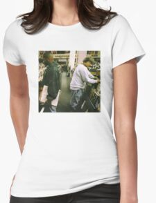 DJ Shadow Endtroducing Womens Fitted T-Shirt