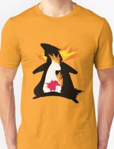 Cyndaquil evolution chart T-Shirt