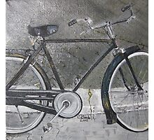 Bicycle in Rome Print From Original Oil Painting Photographic Print