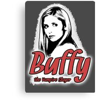 Buffy Summers: One Girl in All the World Canvas Print