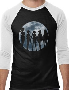Sailor Moon Silhouettes Men's Baseball ¾ T-Shirt