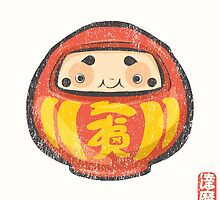 Daruma [Special Lucky Toy Box] by Indigo East