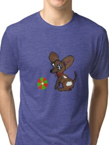 Lets Play Ball Tri-blend T-Shirt