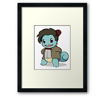 Squirtle Who Framed Print