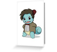 Squirtle Who Greeting Card