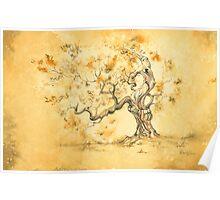 Golden Oak by David Evans Poster