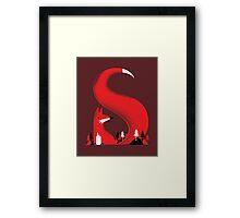 S like fox Framed Print
