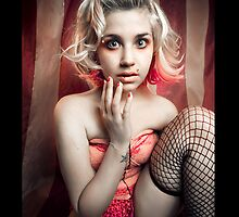Laney in fishnets by cannibalized