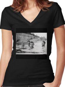 Slint Spiderland Women's Fitted V-Neck T-Shirt