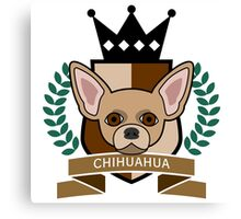 Chihuahua Coat of Arms Canvas Print