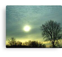 Canadian Sunrise Canvas Print