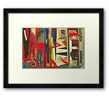 Triple S Framed Print