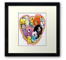 Adventure Time - Group Hug Framed Print