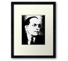 B. R. Ambedkar Framed Print