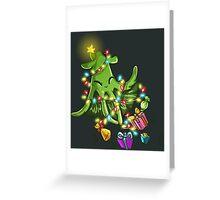 Undersea Christmas Tree Greeting Card