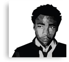 Childish Gambino Vector Canvas Print