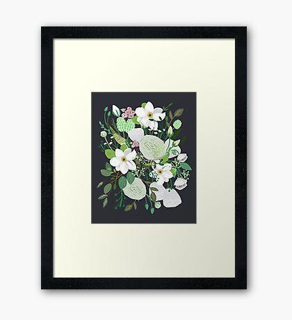 Floral Forest Framed Print