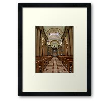 Queen Mary's Aisle Framed Print