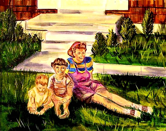 Mother and Daughters  by hickerson
