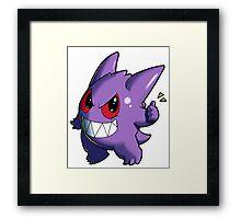 Pokemon - Gengar Framed Print