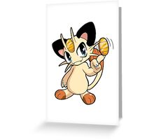 Pokemon - Meowth Greeting Card